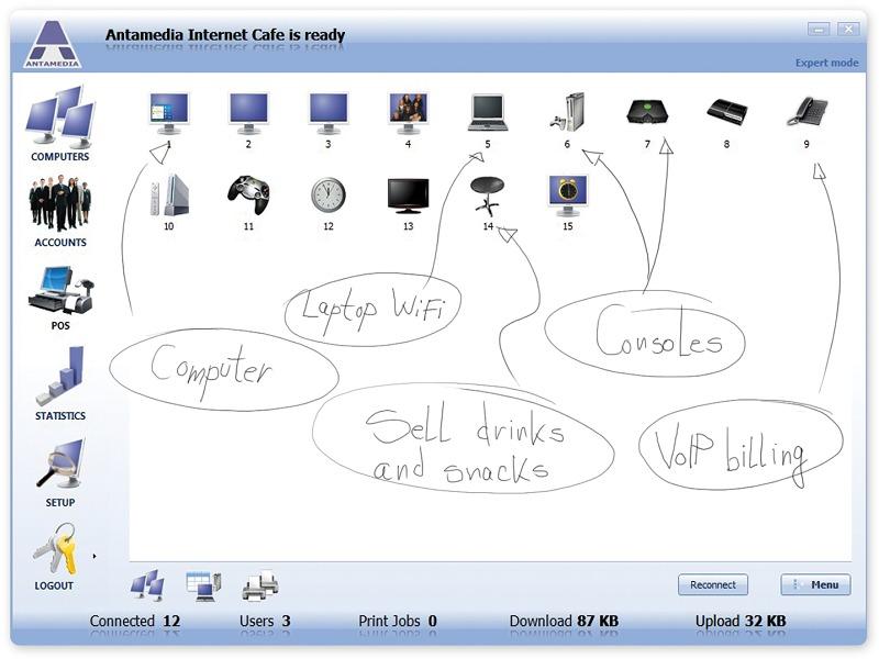 Maximizing internet cafe profits   internet cafe software.
